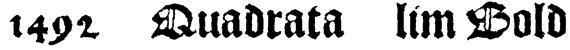 1492_Quadrata_lim Bold Font