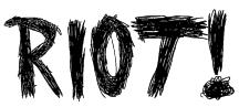 RIOT! Font