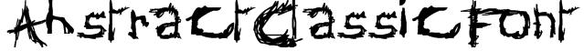 AbstractClassicFont Font