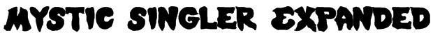 Mystic Singler Expanded Font