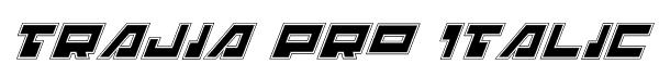 Trajia Pro Italic Font