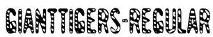 GiantTigers-Regular Font