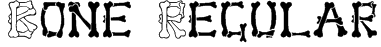 Bone Regular Font