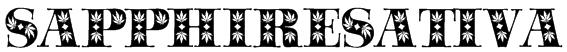 SapphireSativa Font