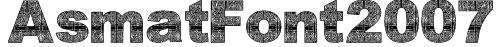AsmatFont2007 Font
