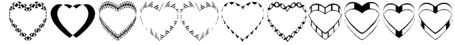 4YEOhearts Font