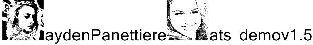 HaydenPanettiereBats demov1.5 Font