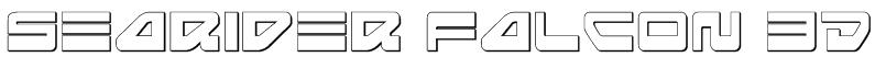 Searider Falcon 3D Font