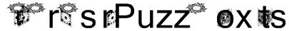 HellraiserPuzzleBoxBats Font