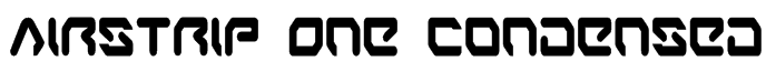 Airstrip One Condensed Font
