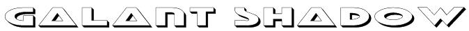 Galant Shadow Font