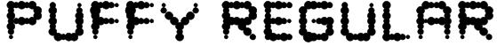 Puffy Regular Font