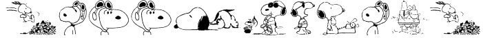 Snoopy Dings Font