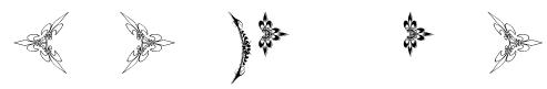 Eutemia Ornaments Font