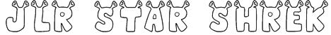 JLR Star Shrek Font