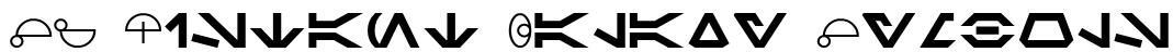SF Distant Galaxy Symbols Font