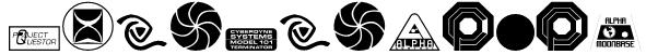 Sci-Fi-Logos Font