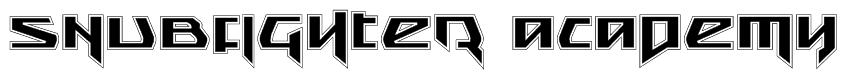 Snubfighter Academy Font