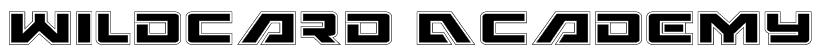 Wildcard Academy Font