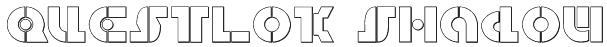 Questlok Shadow Font