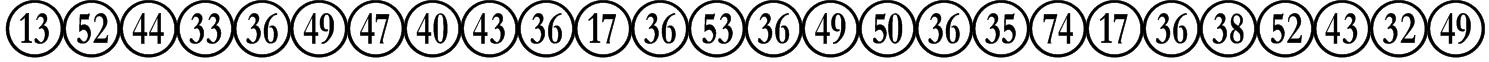 NumberpileReversed-Regular Font