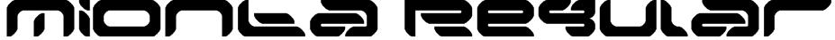 Mionta Regular Font