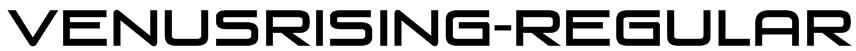 VenusRising-Regular Font