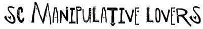 SC Manipulative Lovers Font