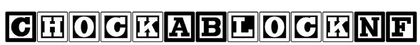ChockABlockNF Font