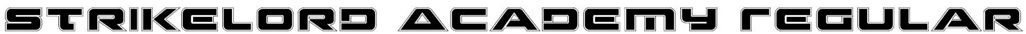 Strikelord Academy Regular Font