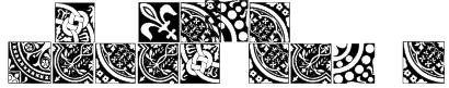 Medieval Tiles I Font