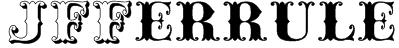 JFFerrule Font