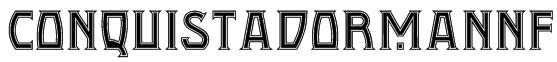 ConquistadormanNF Font