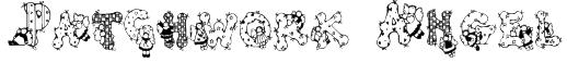 Patchwork Angel Font