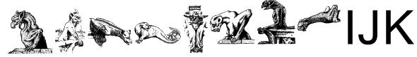 Gargoyles Font