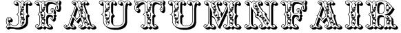 JFAutumnFair Font