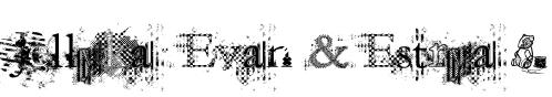 Jellyka  Evan & Estrya > Font