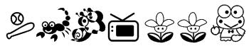 Keroppi Font