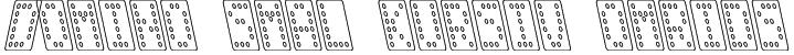 Domino smal kursiv omrids Font