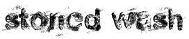 stoned wash Font