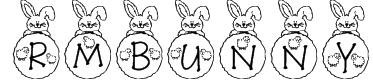 RMBunny Font