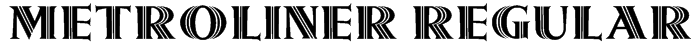 Metroliner Regular Font