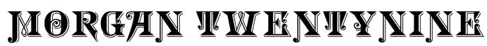 Morgan TwentyNine Font