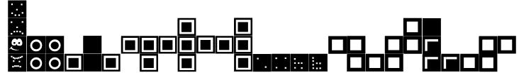 Tetris Blocks Font