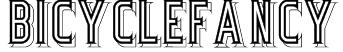 BicycleFancy Font