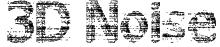 3D Noise Font