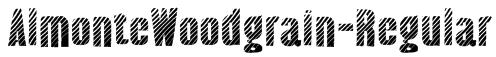 AlmonteWoodgrain-Regular Font