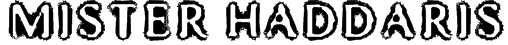 Mister Haddaris Font