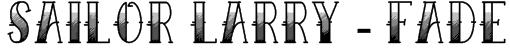 Sailor Larry - Fade Font