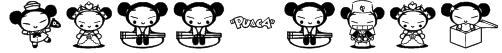 pucca club Font